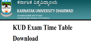 Kud dharwad time table kalvi bhoomi for Gtu time table 4 th sem